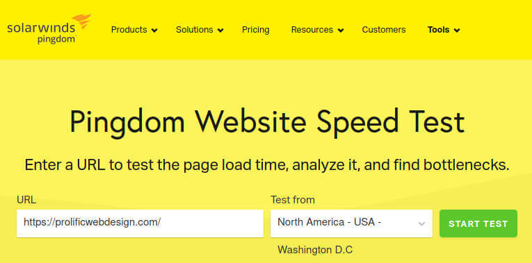 How to test your website for speed